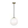 This item: Loring Satin Bronze 12-Inch One-Light Pendant
