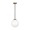 This item: Loring Satin Bronze 10-Inch One-Light Pendant