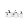 This item: Nora Chrome Three-Light Energy Star Wall Sconce