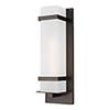 This item: Fredrick Antique Bronze One-Light Outdoor Wall Lantern