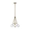 This item: Diana Satin Bronze One-Light Pendant