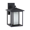 This item: Pax Black Nine-Inch LED Outdoor Wall Sconce