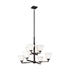 This item: Aster Brushed Oil Rubbed Bronze Eight-Light Energy Star Chandelier