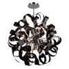 This item: Camila Black 24-Inch 12-Light Pendant