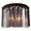 This item: Amara Brown Two-Light Wall Sconce