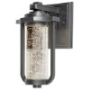 This item: Pax Slate 6-Inch LED Outdoor Wall Sconce