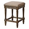 This item: Hana Washed Walnut 24-Inch Barstool