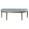 This item: Hana Driftwood 55-Inch Bench