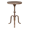 This item: Charlotte Antique Distressed Side Table