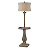 This item: Hana Washed Driftwood One-Light Floor Lamp