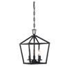 This item: Anna Matte Black 10-Inch Three-Light Pendant