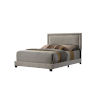 This item: Linden Beige King Upholstered Bed
