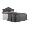 This item: Vivian Soft Charcoal King Upholstered Headboard