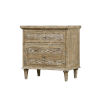 This item: Quinn Sandstone Gray Nightstand