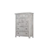 This item: Grace Light Gray and Aged Brass Chest