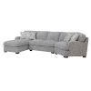 This item: Cooper Linen Gray Sectional Sofa