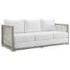 This item: Roat Gray and White Outdoor Patio Sofa