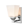 This item: Ava Chrome Five-Inch One-Light Wall Sconce