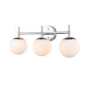 This item: Pax Chrome 24-Inch Three-Light Bath Vanity