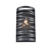This item: Castor Matte Black Seven-Inch One-Light Wall Sconce