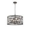 This item: Castor Weathered Iron 20-Inch Six-Light Pendant