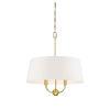 This item: Anna Natural Brass Four-Light Pendant
