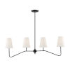 This item: Lyndale Oil Rubbed Bronze Four-Light Chandelier