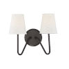 This item: Lyndale Oil Rubbed Bronze Two-Light Wall Sconce