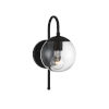This item: Artemis Matte Black One-Light Outdoor Wall Sconce