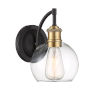 This item: Artemis Oil Rubbed Bronze and Brasss One-Light Outdoor Wall Sconce