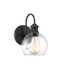 This item: Bryant Matte Black One-Light Outdoor Wall Sconce