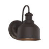 This item: Lex Oil Rubbed Bronze Six-Inch One-Light Outdoor Wall Sconce