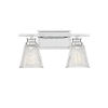 This item: Nora Chrome Two-Light Bath Vanity