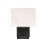 This item: Uptown Matte Black One-Light Wall Sconce