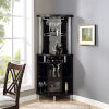 This item: Whittier Black 23-Inch Corner Bar Unit