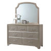 This item: Whittier Champagne Dresser with Mirror