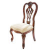 This item: Wellington Brown Cherry Side Chair