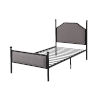 This item: Cooper Black Twin Bed
