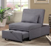 This item: Selby Gray 33-Inch Convertible Chair