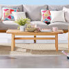 This item: Darren Natural Outdoor Patio Eucalyptus Wood Coffee Table