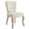 This item: Aster Ivory 25-Inch Dining Side Chair