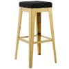 This item: Cooper Gold Black 31-Inch Bar Stool