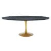 This item: Cooper Black Gold 48-Inch Oval Dining Table