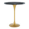This item: Cooper Black Gold Bar Table