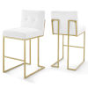 This item: Monroe Gold White 40-Inch Bar Stool, Set of Two