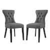 This item: Vivian Gray 36-Inch Dining Side Chair, Set of Two