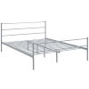 This item: Uptown Gray Queen Platform Bed Frame