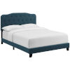This item: Whittier Azure Queen Upholstered Fabric Bed