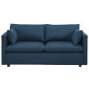 This item: Selby Azure Upholstered Fabric Sofa