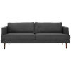 This item: Nicollet Gray 87-Inch Upholstered Fabric Sofa